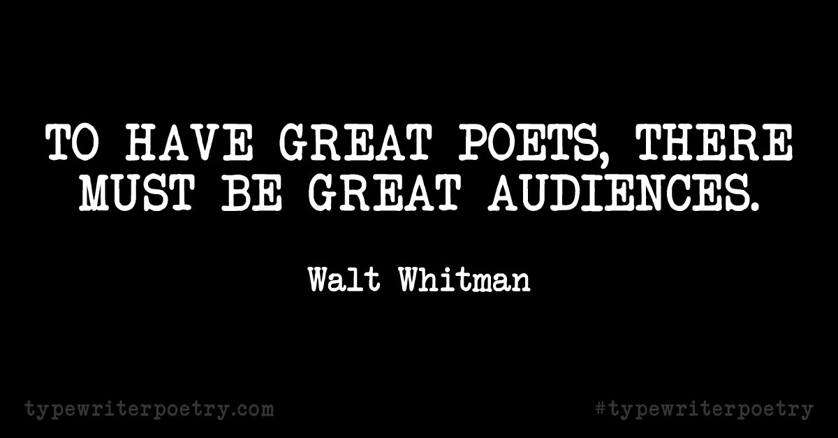 Inspirational Quote for National Poetry Month 2016
