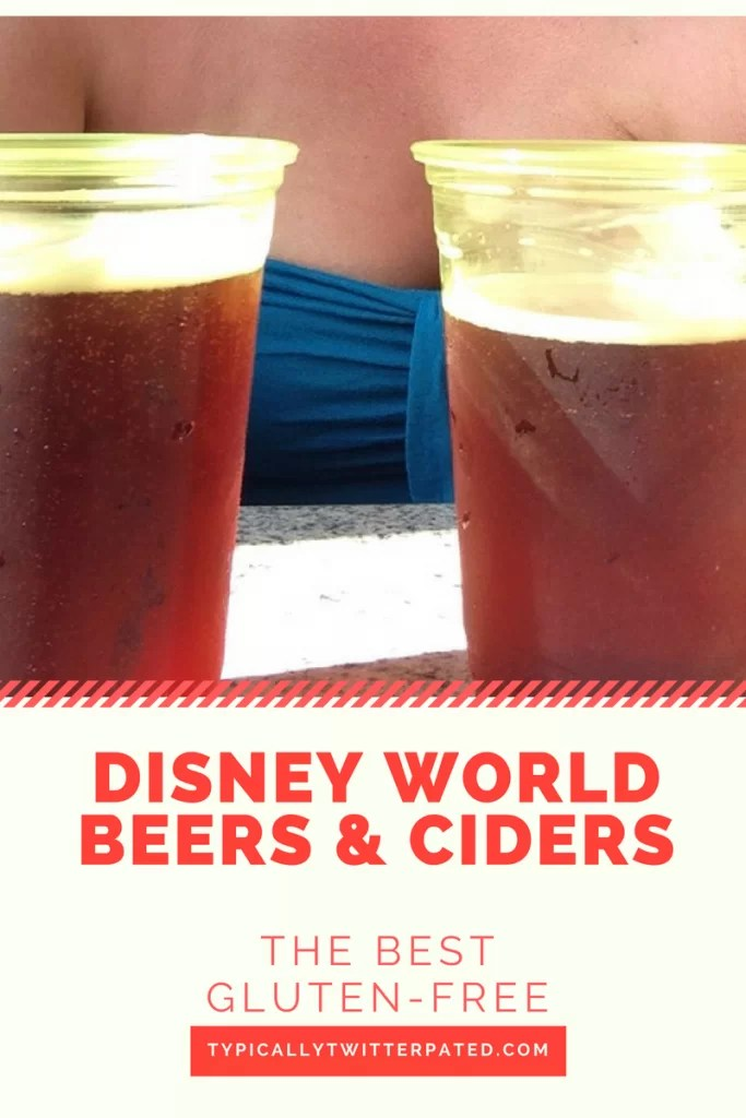 gluten-free beer disney world