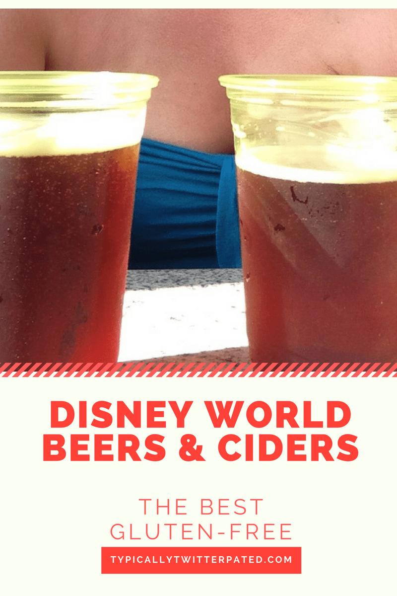 gluten-free beers disney world