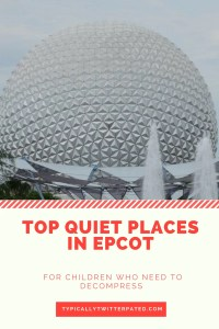 Top 12 Quiet Places in Epcot for Children with Autism