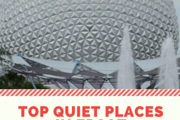 top ten quiet places epcot, walt disney world, autism