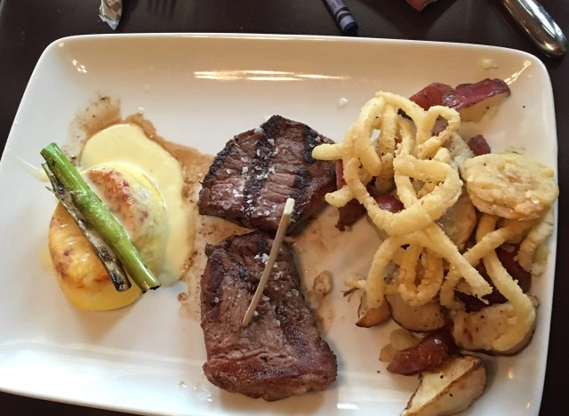 Steak and Eggs, Trattoria al Forno: Walt Disney World's Bon Voyage Breakfast