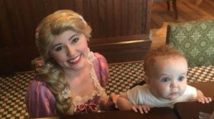Rapunzel, Trattoria al forno breakfast, Disney