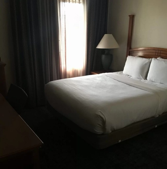 Staybridge Suites Cherry Creek Queen Bedroom
