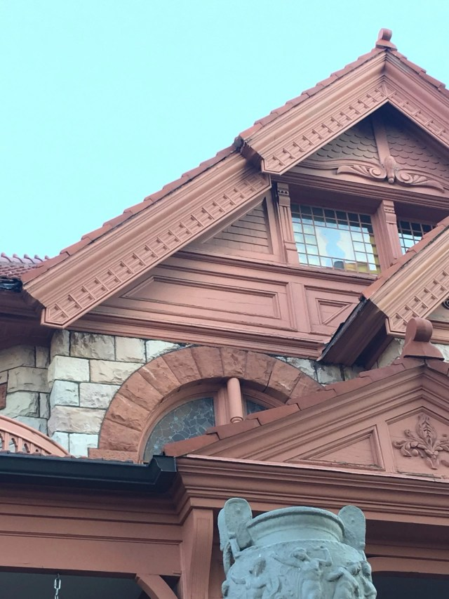 Haunted Denver: Walking Tour Molly Brown house sillhouette