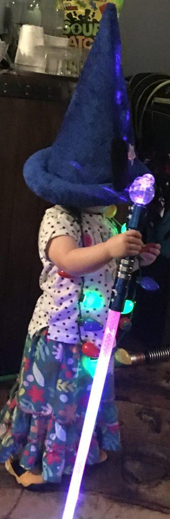 Disney Glow Girl Sorcerer Mickey