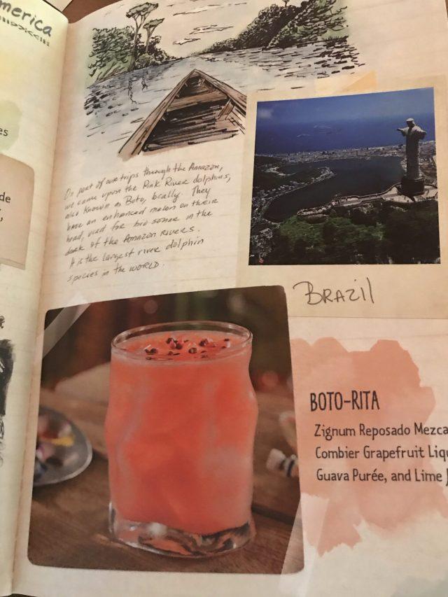 Boto-Rita in Cocktail Menu at Nomad Lounge