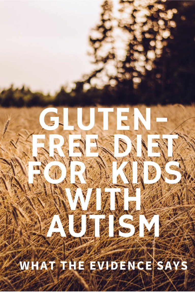 Gluten-free diet for kids with autism