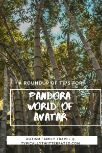 A roundup of tips for Pandora World of Avatar from Typically Twitterpated.com over green bamboo and a blue sky
