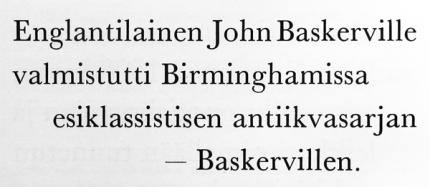 Kuva 22: Baskerville