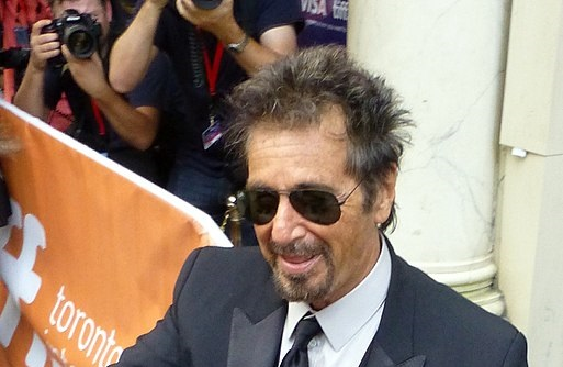 Al Pacino - Φωτογραφία By GabboT - Manglehorn 03, CC BY-SA 2.0, https://commons.wikimedia.org/w/index.php?curid=35450281