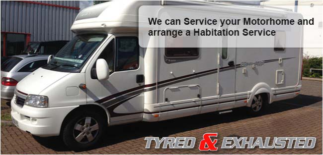 We can service your Motorhome