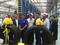 First Landsail tyres produced at new Thai factory