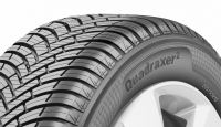 The braking distance of size 205/55 R16 91H Quadraxer 2 is said to be 3.5m shorter than the first-generation tyre