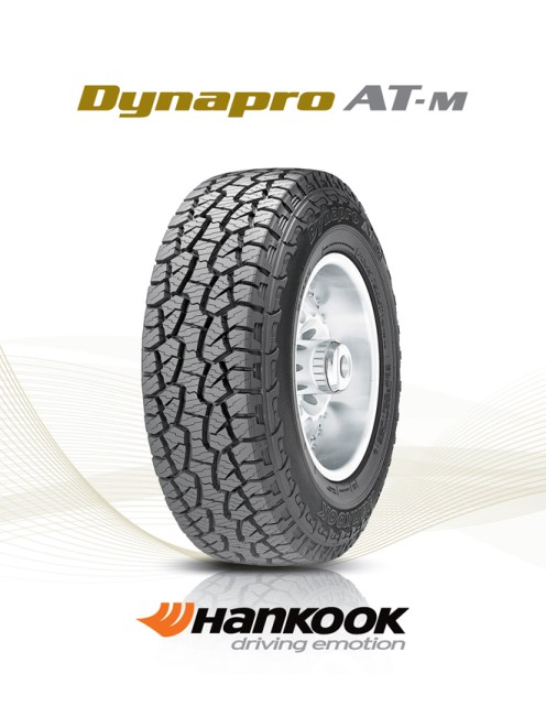 Hankook is supplying Nissan the Dynapro AT-M in size P265/75R16T