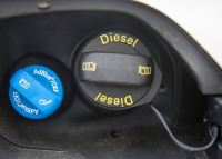 FBC fluid is typically stored in a separate tank, which usually requires refilling every 60,000 miles or so (Source: Istock Copyright: dirkbaltrusch ID:519898820)