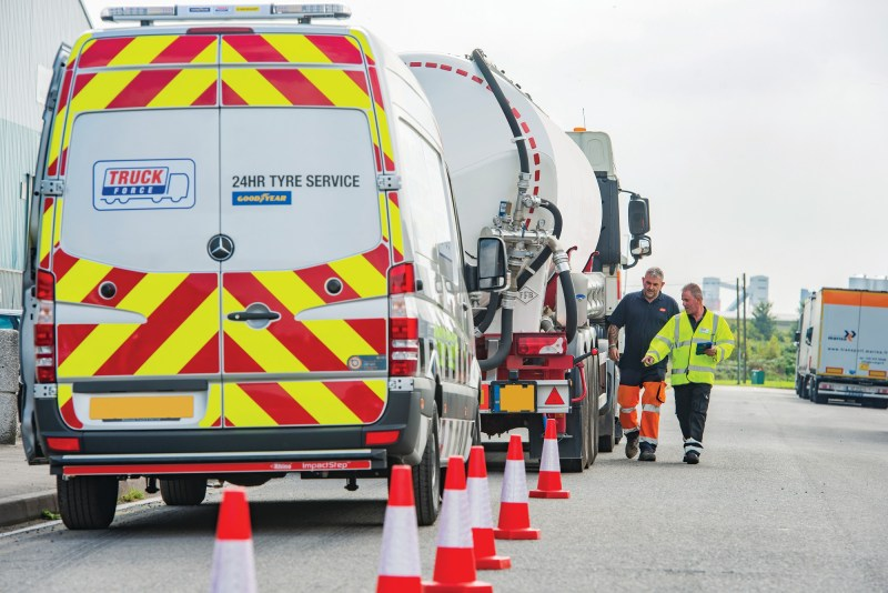 The year-on-year increase in the number of incidents solved by ServiceLine24h reflects a growth in the number of commercial vehicles managed by FleetOnlineSolutions