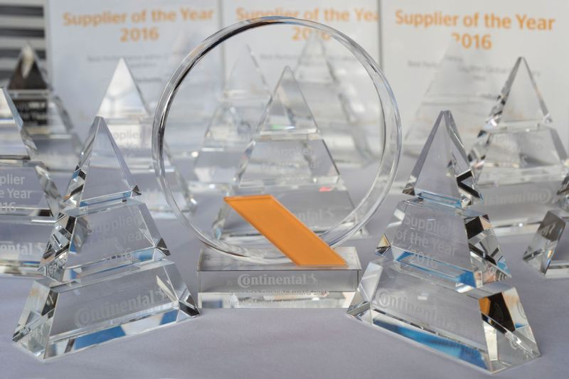 Continental awards top Automotive Group suppliers