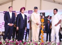 Apollo Tyres lays foundation stone for 7th factory