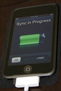 Touchy, My New iPod Touch
