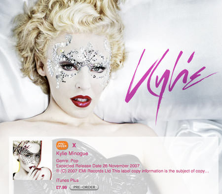 Kylie on UK Music Store - Pre Order