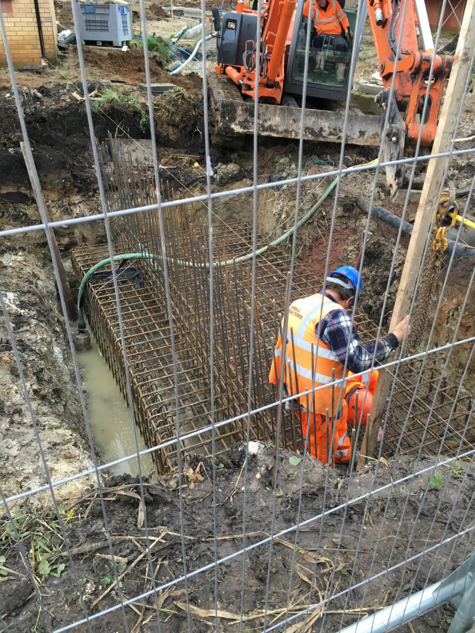 Concrete Head Walls Culverts Tyrrell Contractors
