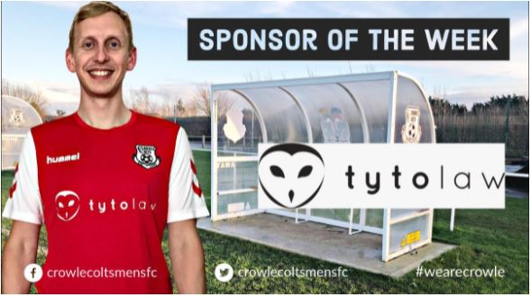 Tyto Law Sponsorship for Crowle Colts