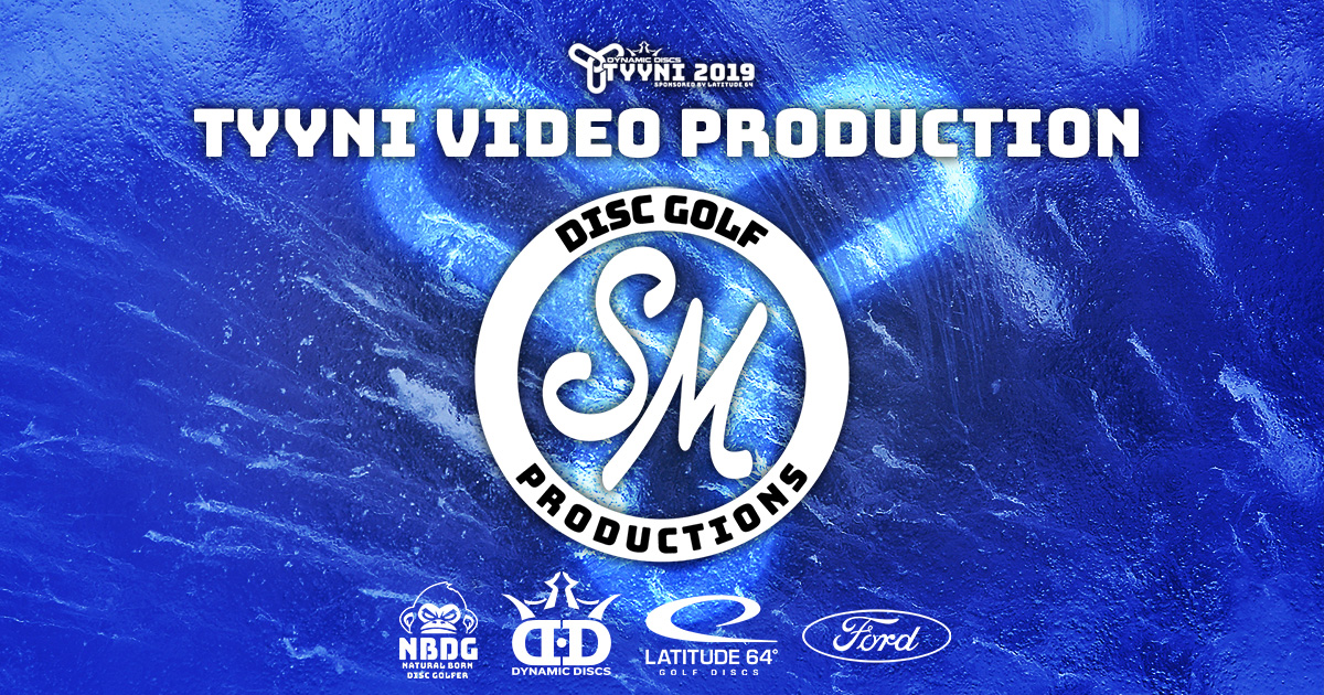 Tyyni 2019 media partnership – SM Disc Golf Productions signed for post-production videos