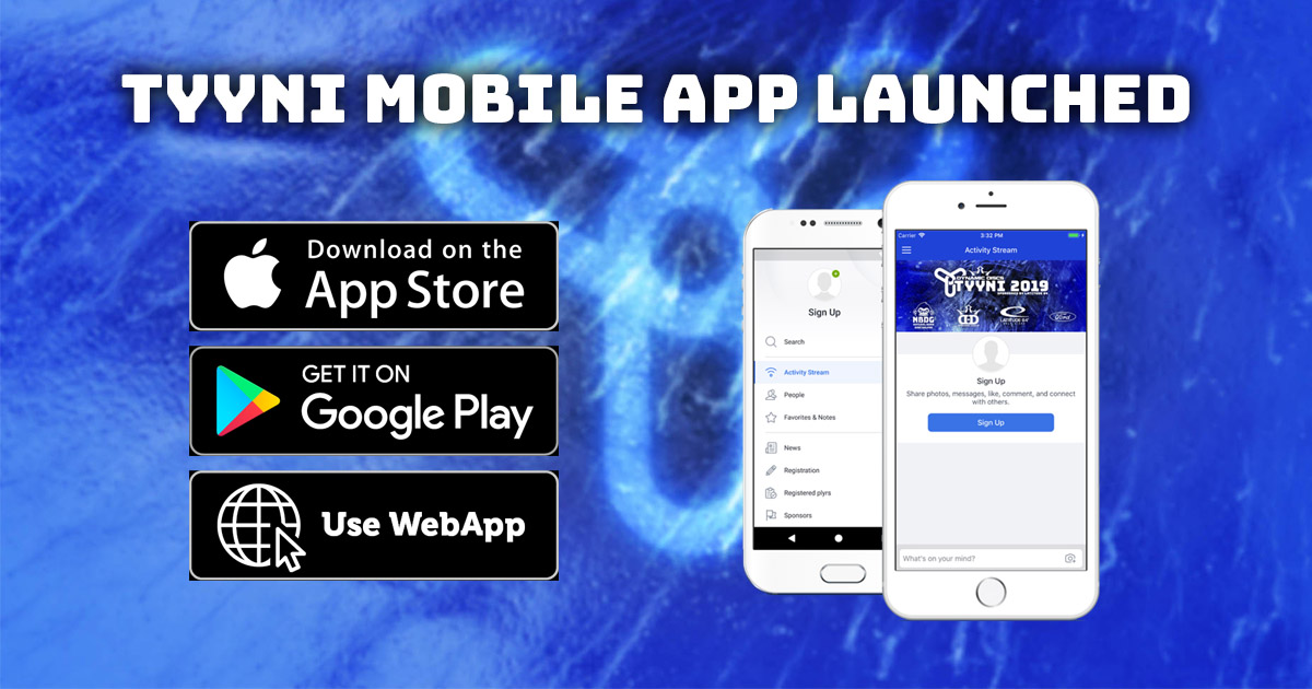 Official Tyyni 2019 mobile application is launched for Android and iOS devices