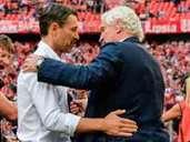 Bayern against Bayer Leverkusen