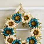 Sunflower Wreath Tutorial U Create