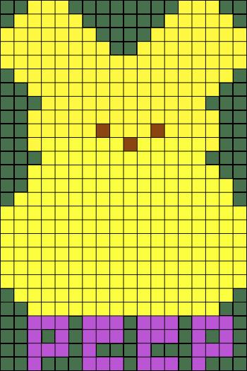 Easter Perler Bead Patterns