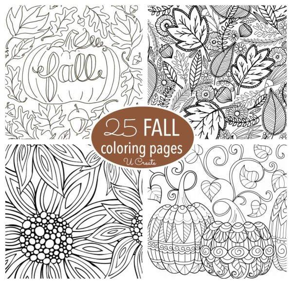 fall coloring pages # 5