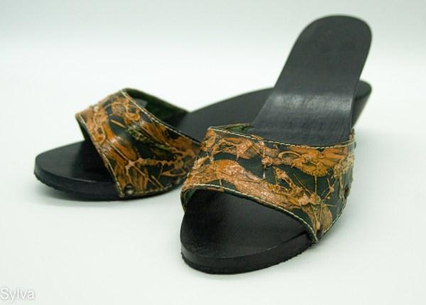 dřevěné pantofle