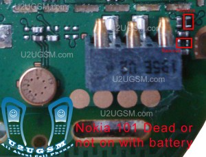 All Gsm Solution: Nokia 100 Dead and Not switch On with
