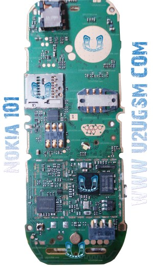 Nokia 101 Full PCB Diagram Mother Board Layout