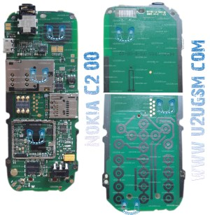Nokia C200 Full PCB Diagram Mother Board Layout