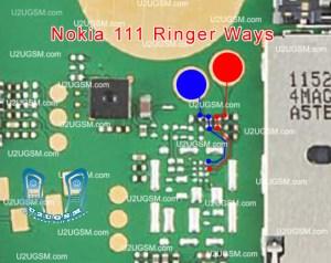 Nokia 111 Ringer Problem Jumpers Ways Solution  Mobile