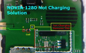 All Cellular Mobile Repair Solution: nokia 1280 not charging problem solution