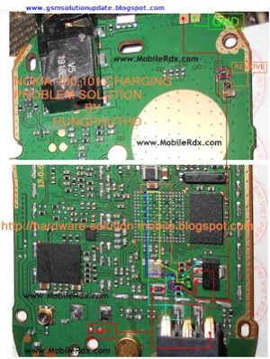 All About Mobiles: nokia 101 charging ic jumper