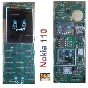 Nokia 110 Full PCB Diagram Mother Board Layout