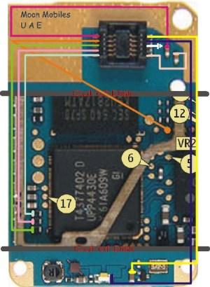 Nokia 2610 Display Problem Display Jumpers Display
