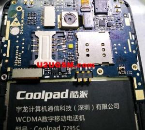 Coolpad 7295C Insert Sim Card Problem Solution Jumper Ways