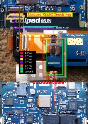 Coolpad 7295C touch screen not working problem solution