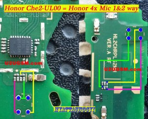 Huawei Honor Play 4X Mic Problem Jumper Solution Ways