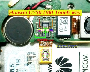 Huawei G730 Touch Screen Problem Jumper Touch Ways