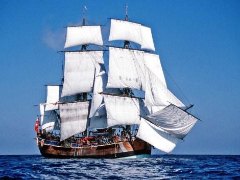 1 HMS Endeavour replica