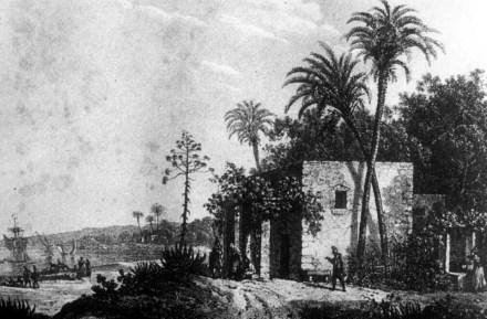 Casa al Camp, Elche beginning 19th century
