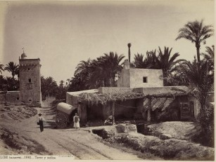 1870 Tower and mill of Resemblanc. Elche