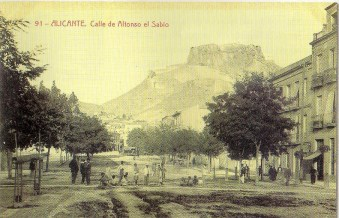 Avinguda Alfonso el Sabio, Alicante, beginning of 20th century
